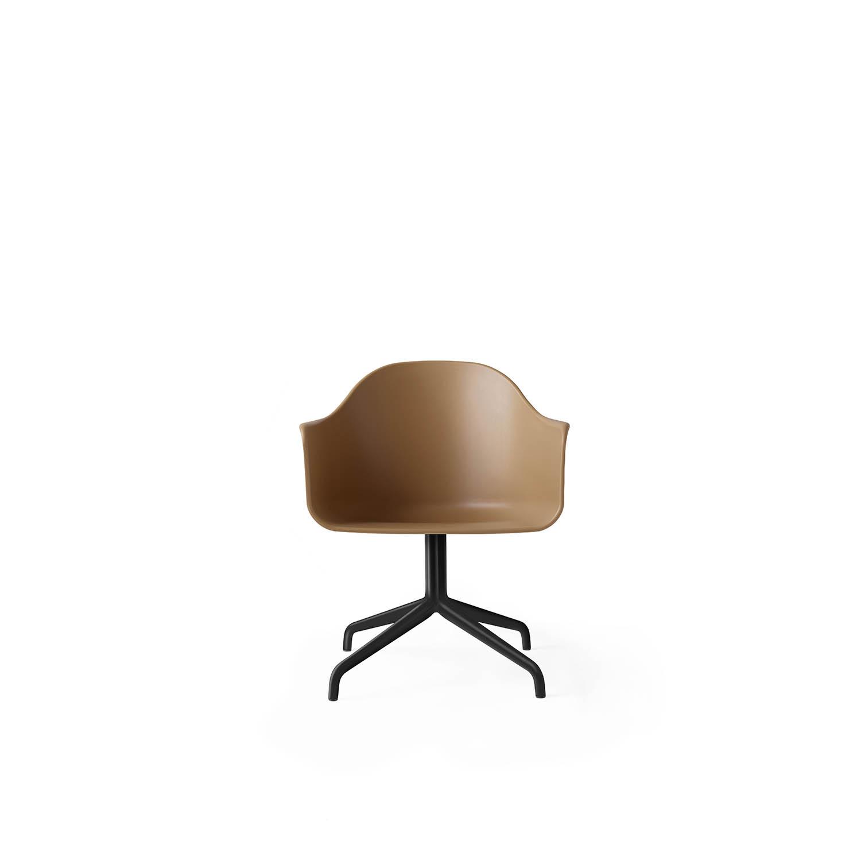 Harbour Chair, Black Swivel/Khaki Shell