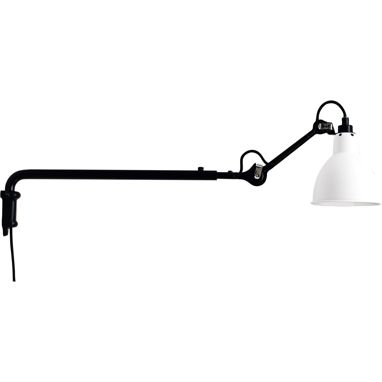 Bilde av La Lampe Gras-N°203 Vegglampe, Svart/Hvit