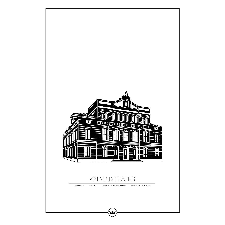 Kalmar Teater Poster 61x91cm
