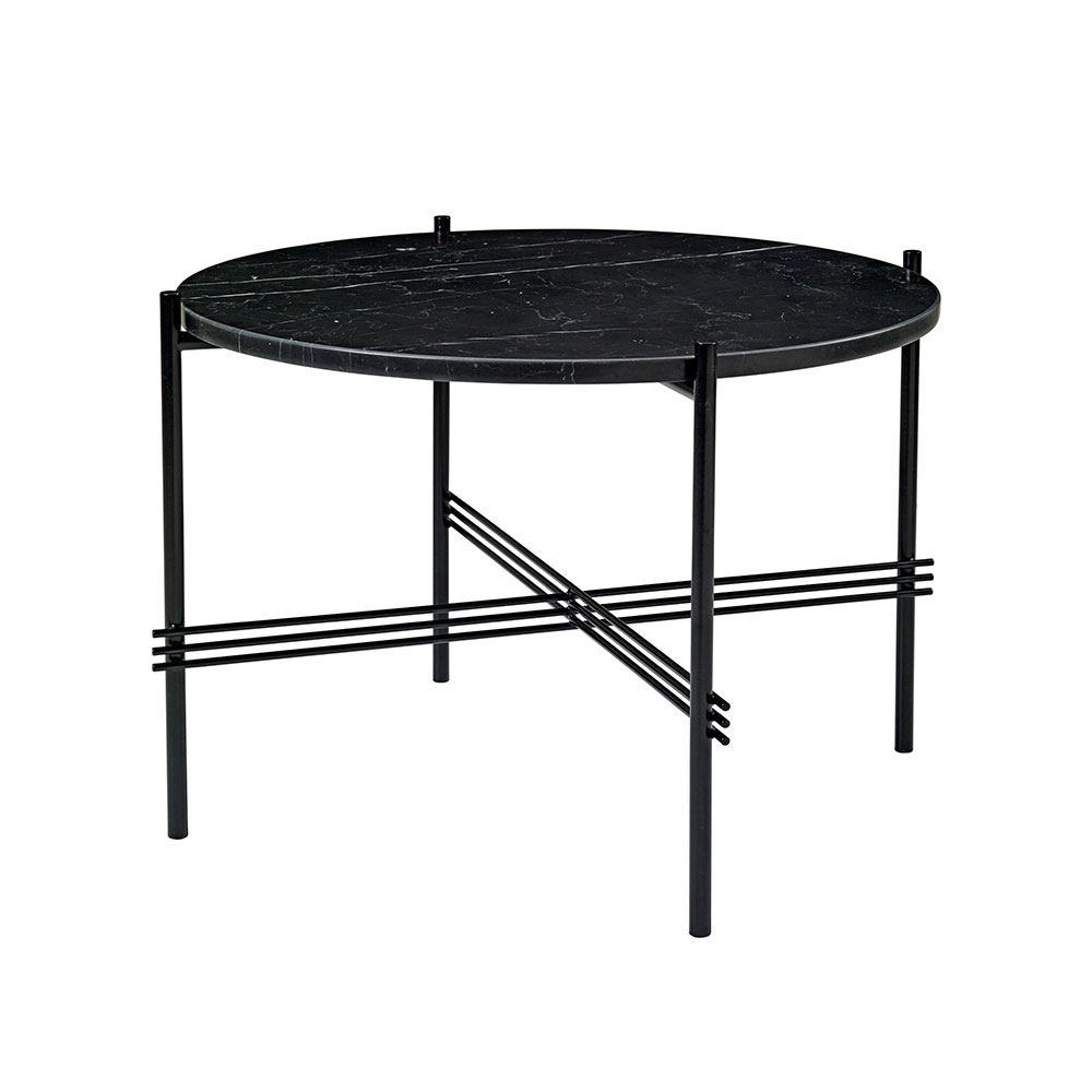 gubi bord Ts Coffee Table Ø55cm, Black/Marble   Gubi @ RoyalDesign.co.uk gubi bord