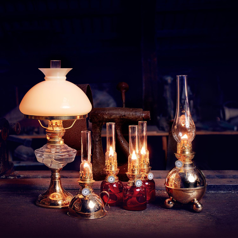 Nattlampan Parafinlampe Karlskrona Lampfabrik @ RoyalDesign.no