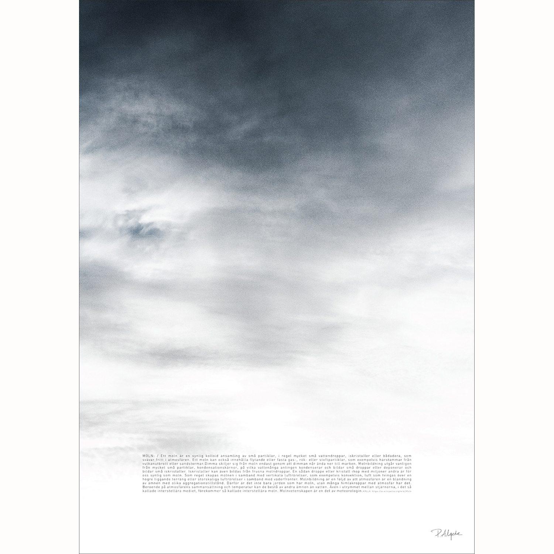 Moln Poster, 50X70