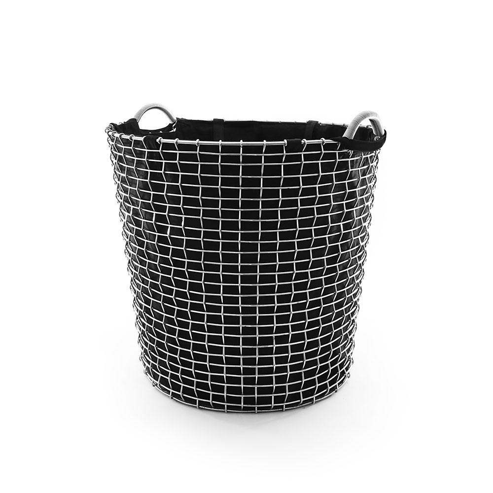 Korbo-Pyykkipussi 65L, Musta