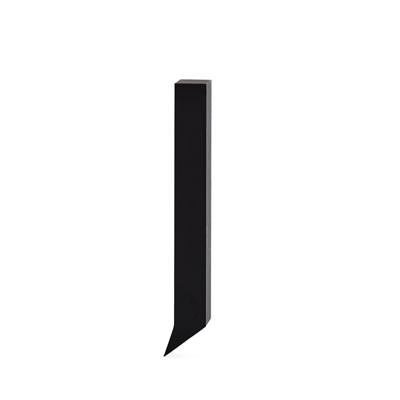 Design Letters, Grå Bokstav i Aluminium, J