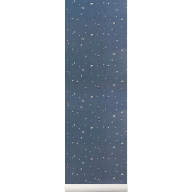 Moon Tapet, Mörkblå