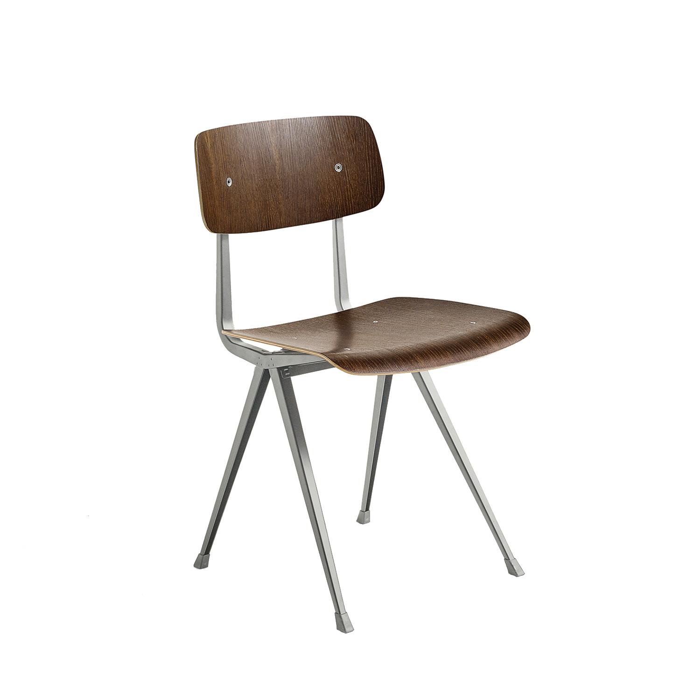 Result Chair Stol, Rökt Matt Ek/Beige