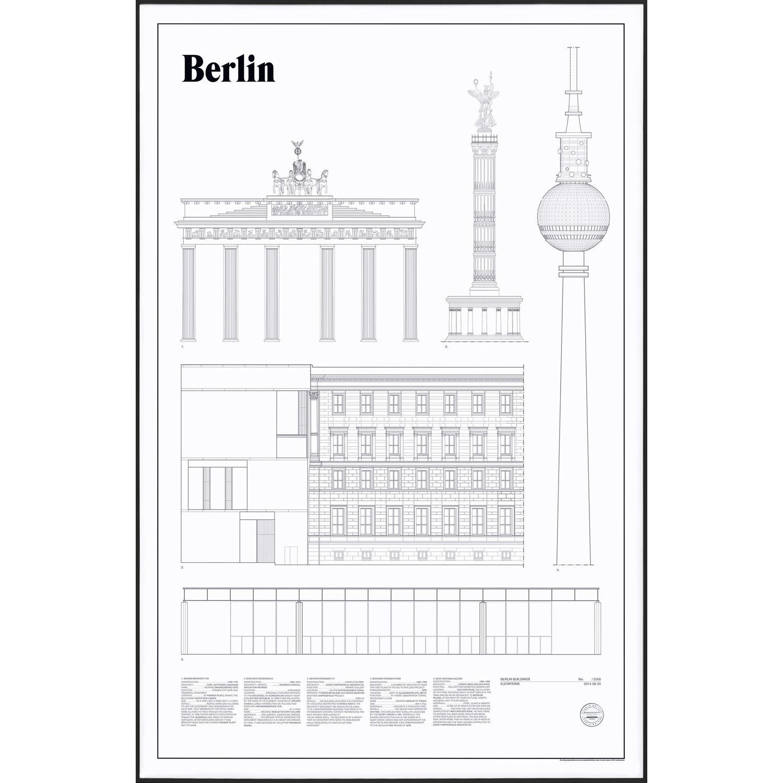 Bilde av Studio Esinam-Berlin Elevations Poster