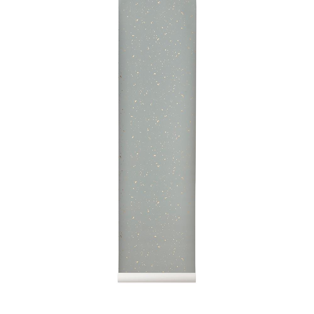Image of Ferm Living-Confetti Tapete, Grau