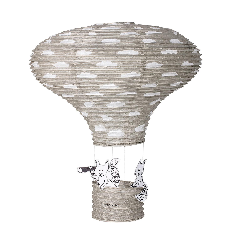 Luftballong Barnrum 60 cm, Grå