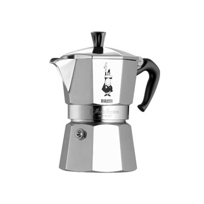 Bialetti-Moka Espressobryggare, 3 Koppar