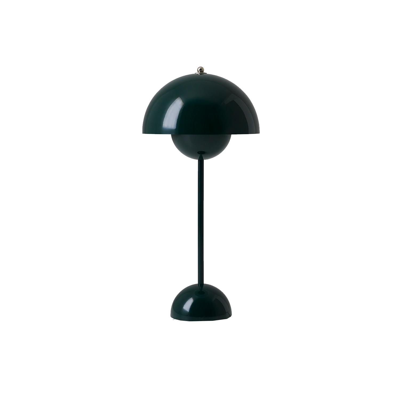 Bilde av &Tradition-Flowerpot Bordlampe Vp3, Mørkegrønn