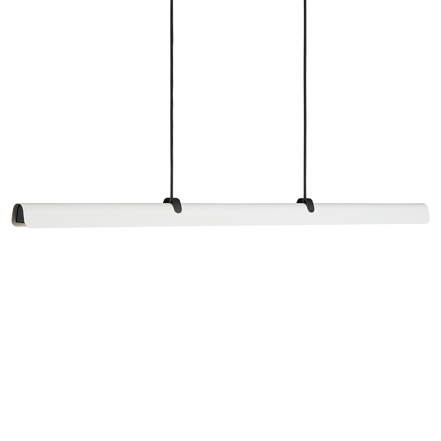 Belid-Fold ceiling 118 cm, Anthracite/White