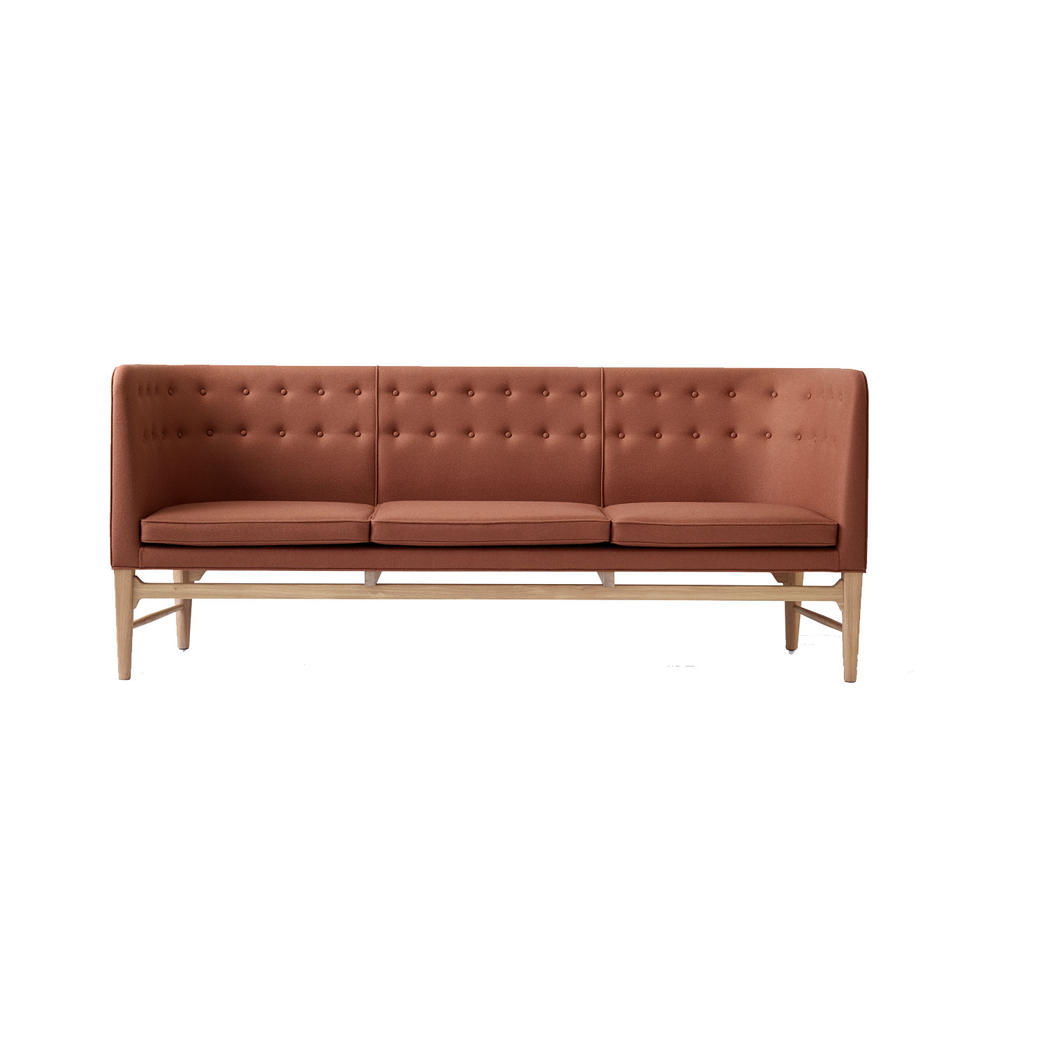 Bilde av &Tradition-Mayor Sofa Aj5, Hvitoljet Eik/Divina 3/346