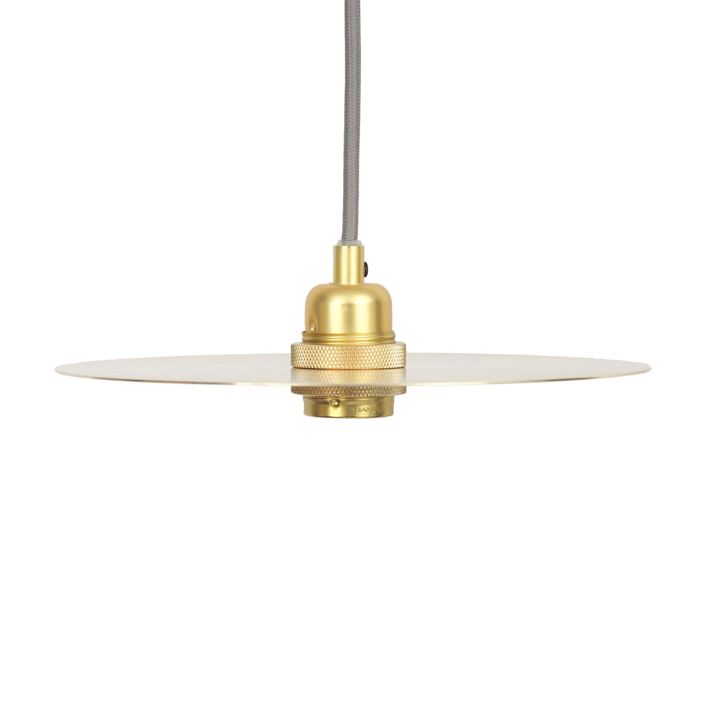 Circle Lampskärm Medium, Mässing
