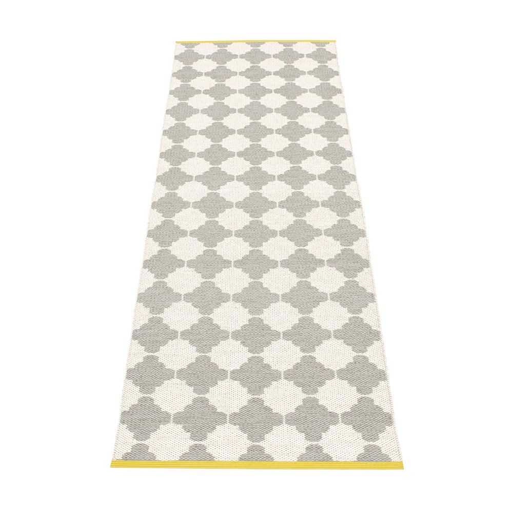 Marre Matta 70x150 cm, Warm Grey/Vanilla/Mustard
