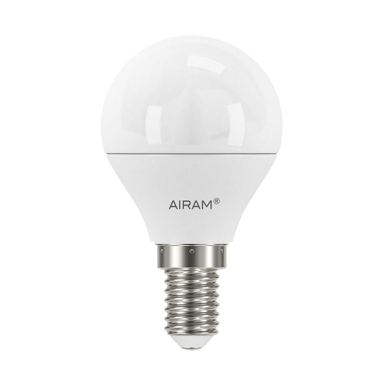 Bilde av Airam-LED Rund Lyspære P45 E14 5,5W, 4-pk.