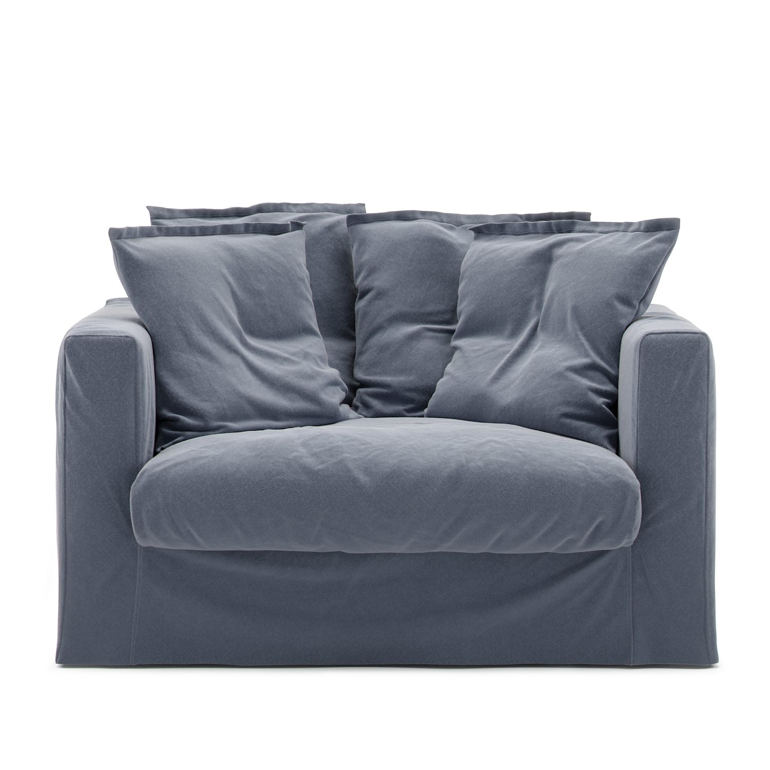 Le Grand Air Loveseat Bomull, Mörkblå