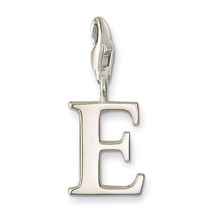 Silver Letters Berlock, E