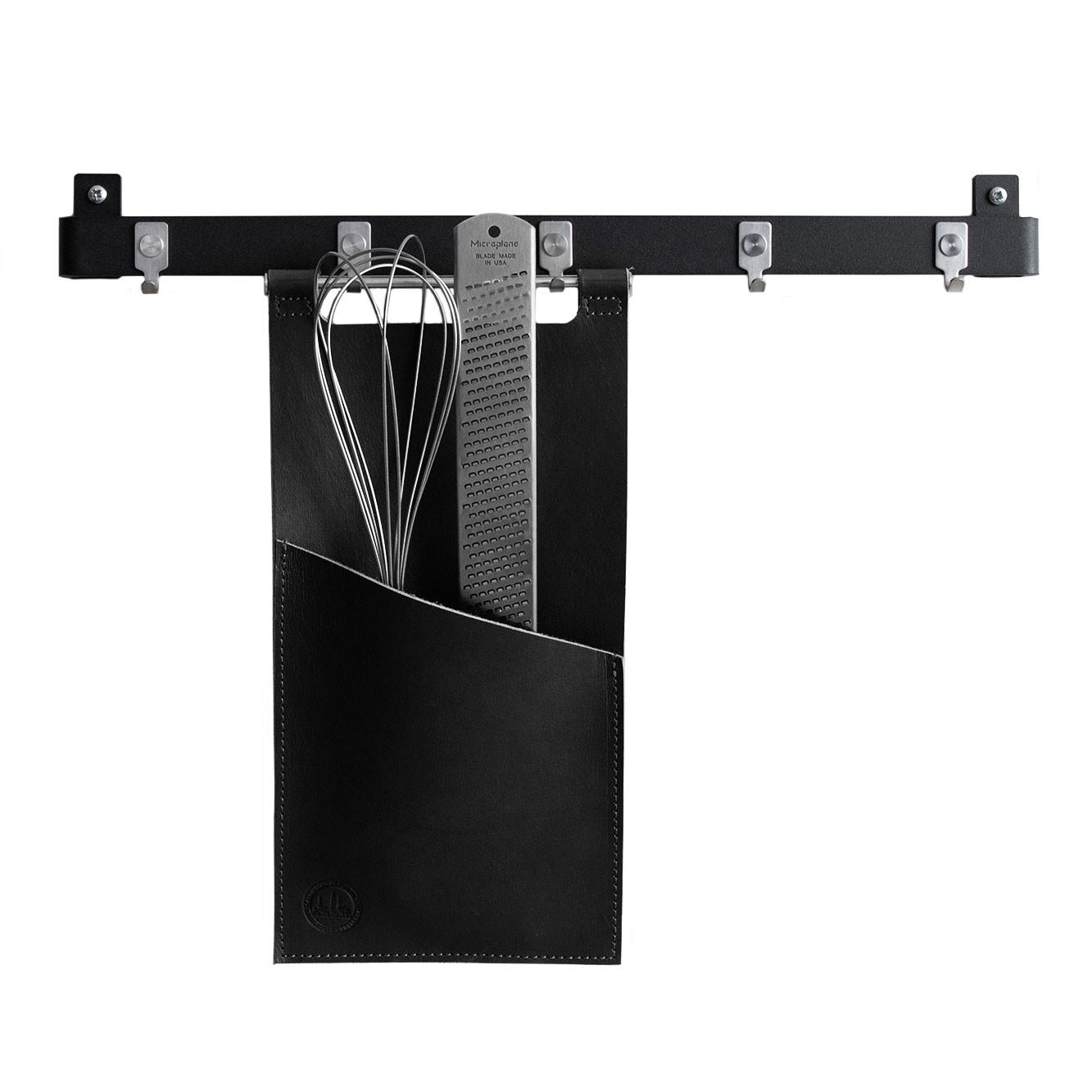 Image of Scandinavian Design Factory-Tasche für Küchenutensilien 30x15cm, Schwarz
