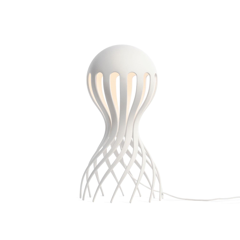 Cirrata Bordslampa, Vit