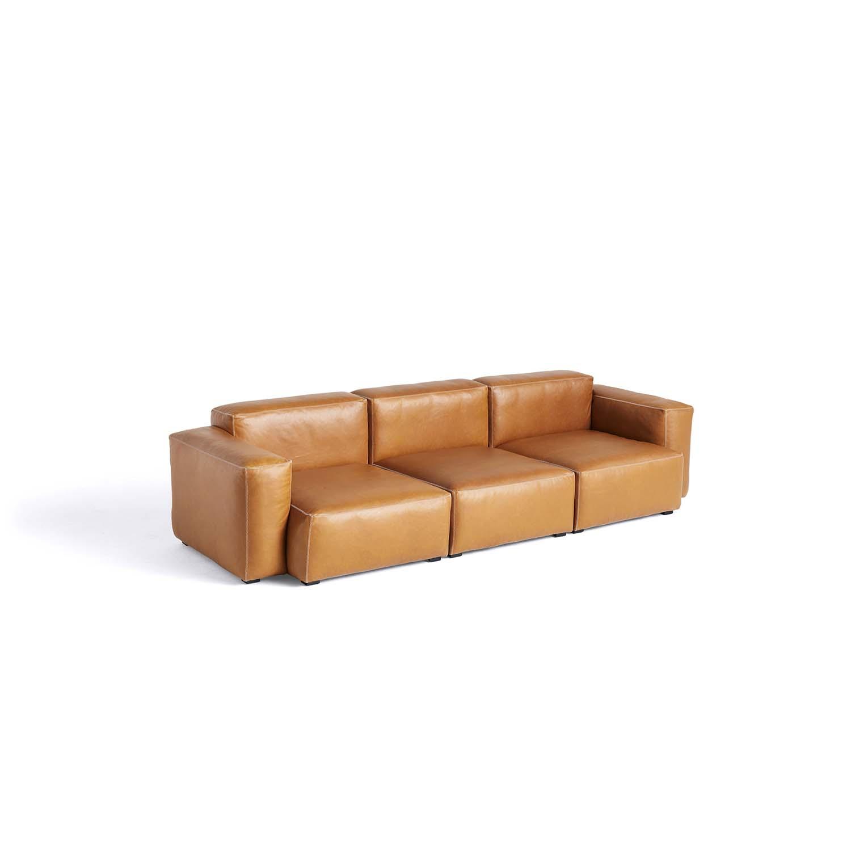 Bilde av Hay-Mags Sofa Soft 3 Seater Comb. 1 Low, Silk 0250