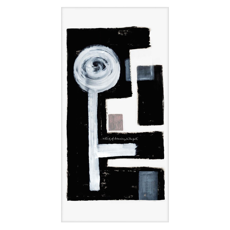 Bilde av Ylva Skarp-The Past Canvas Tavle 68x135cm, Mix