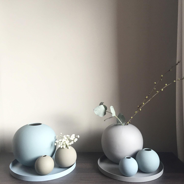 15cm Cooee Design Vase Pastille Weiß