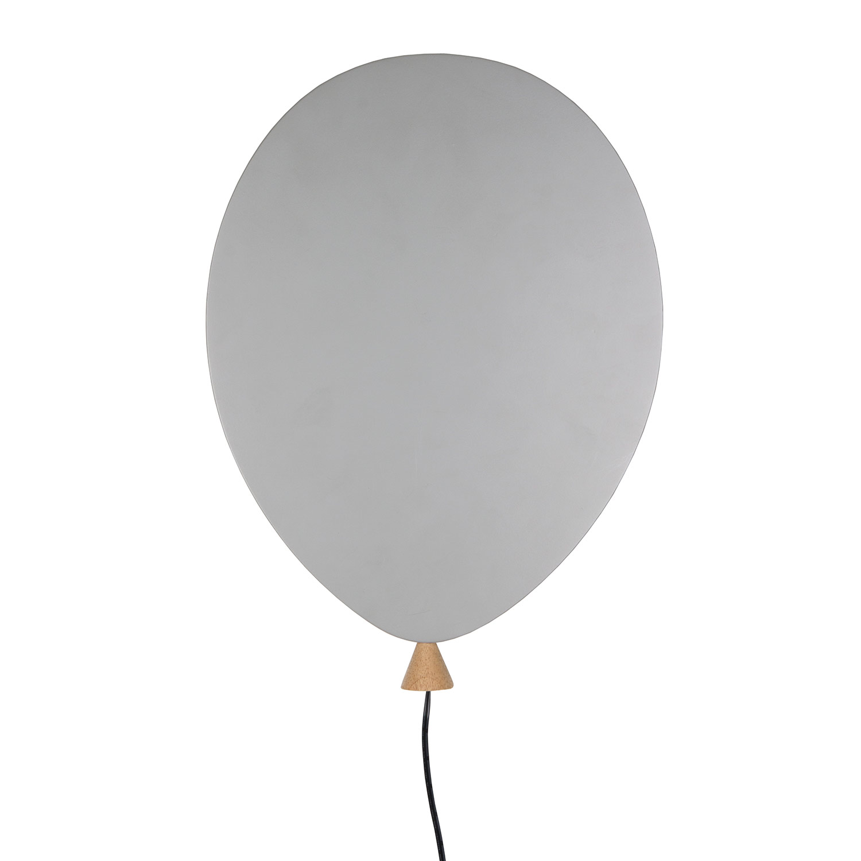 Balloon Vägglampa LED, Grå