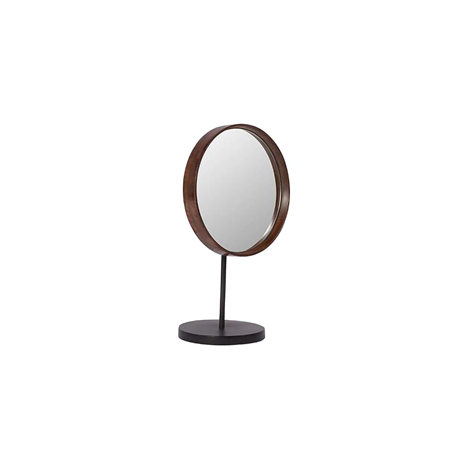 Bilde av 101 Copenhagen-Reflect Table Mirror 30 Cm, Tre/Messing