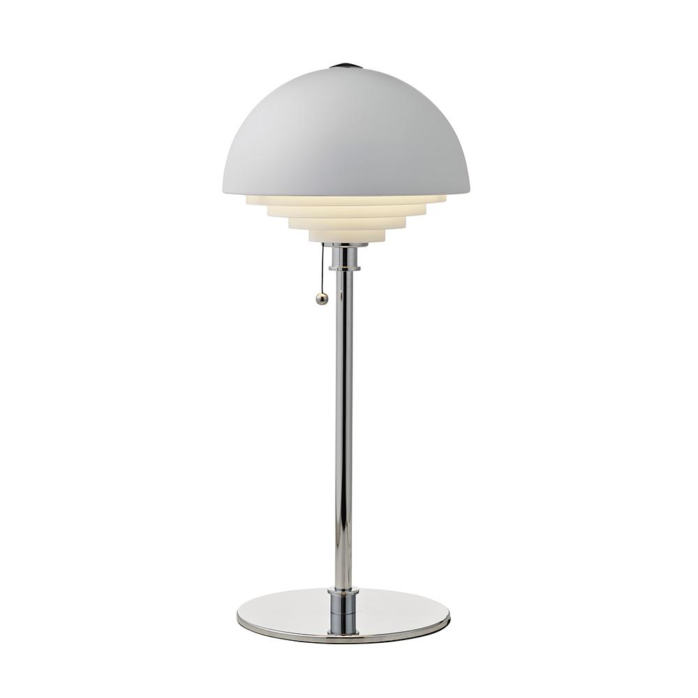 Bilde av Herstal-Motown Bordlampe Ø22,5cm, Hvit