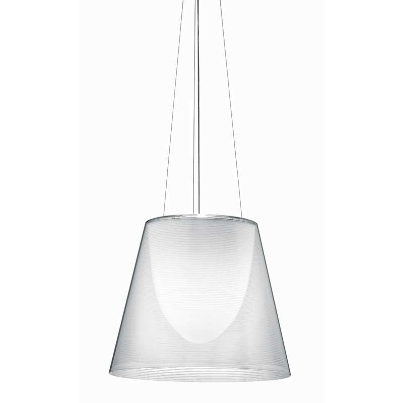 Flos-Ktribe S3 Loftlampe, Transparent