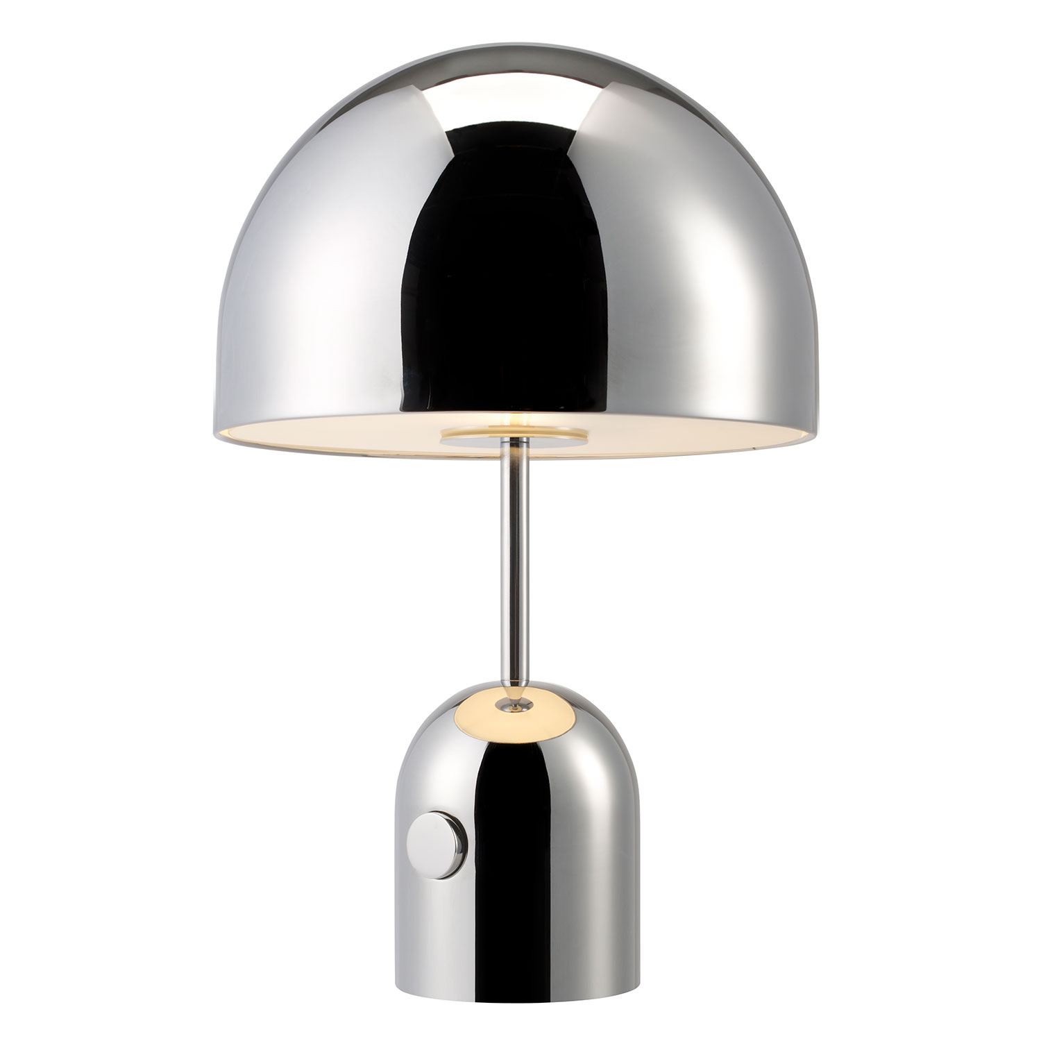Bell Bordlampe, Krom Tom Dixon @ RoyalDesign.no