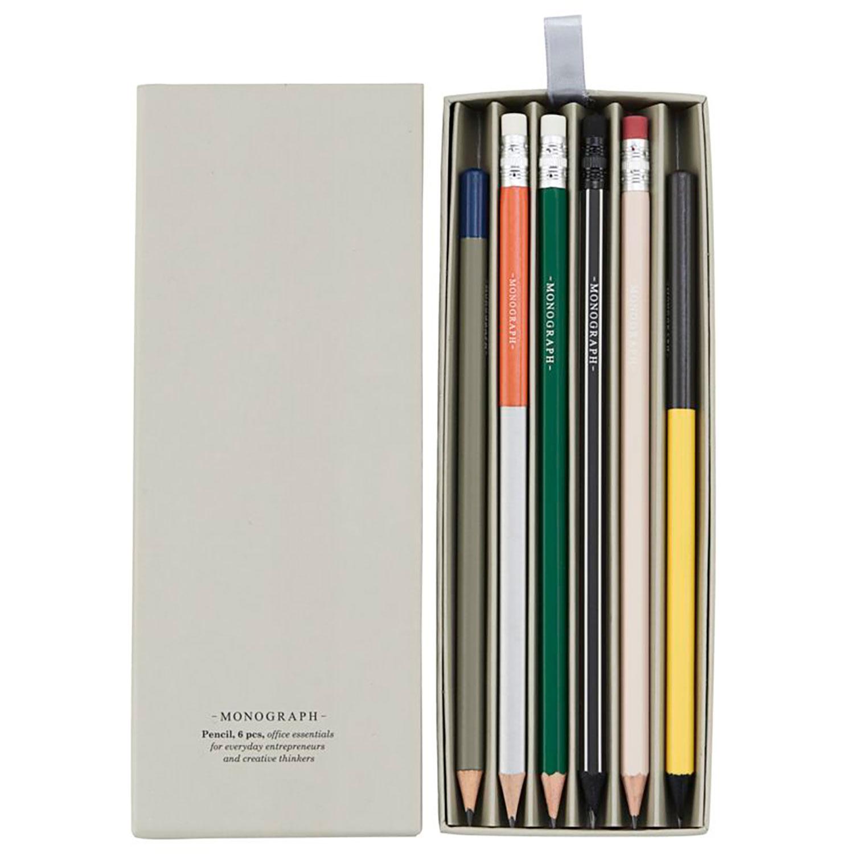 Blyertspennor 6-Pack