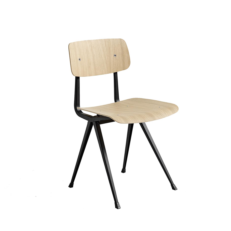 Result Chair Stol, Matt Ek/Svart