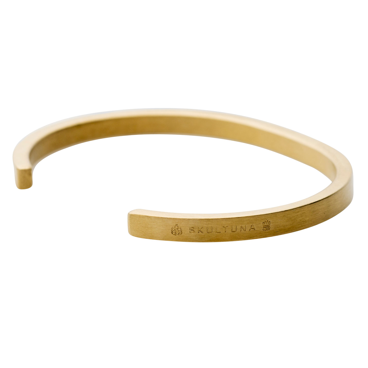 Skultuna-SB Thin Armband Matte Gold, 65 mm