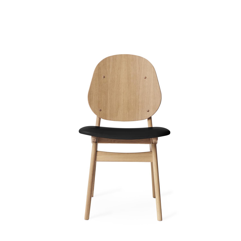 Warm Nordic-Noble Stol, Vitoljad Eg/Läder