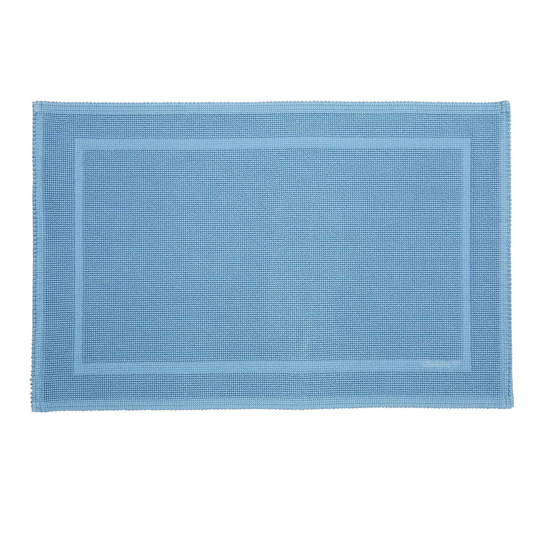 Badrumsmatta 60x90 cm, Crystal Blue