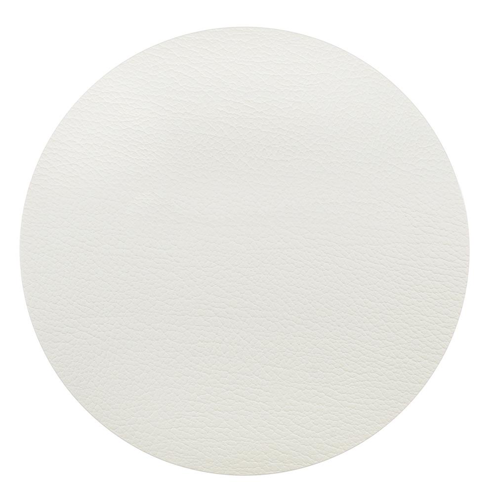 Lind DNA-Circle S Dækkeserviet Ø24cm, Bull White