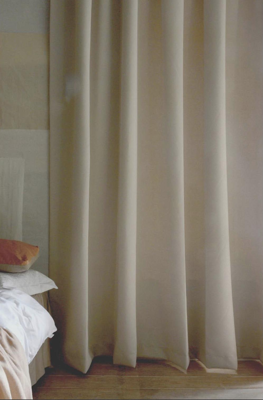 Mörkläggande Hotellgardin 290x250 cm, Natur