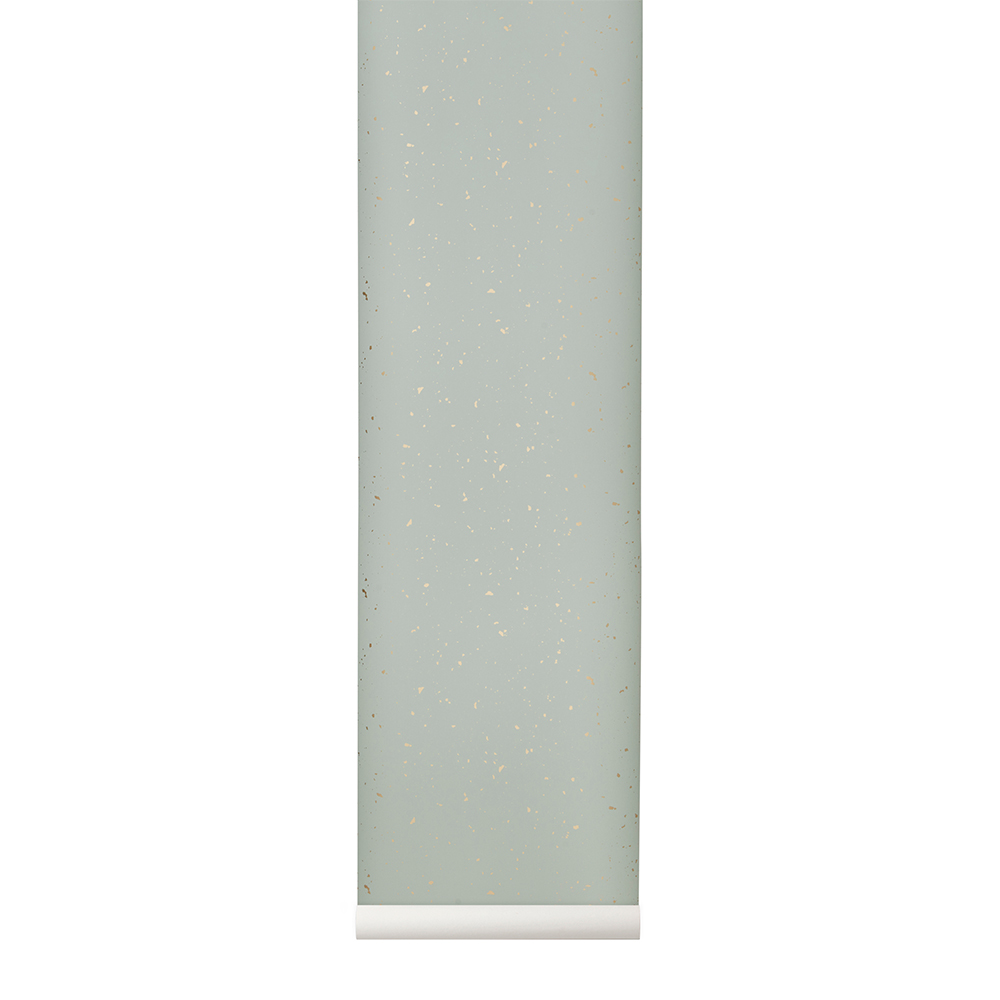 Image of Ferm Living-Confetti Tapete, Mint