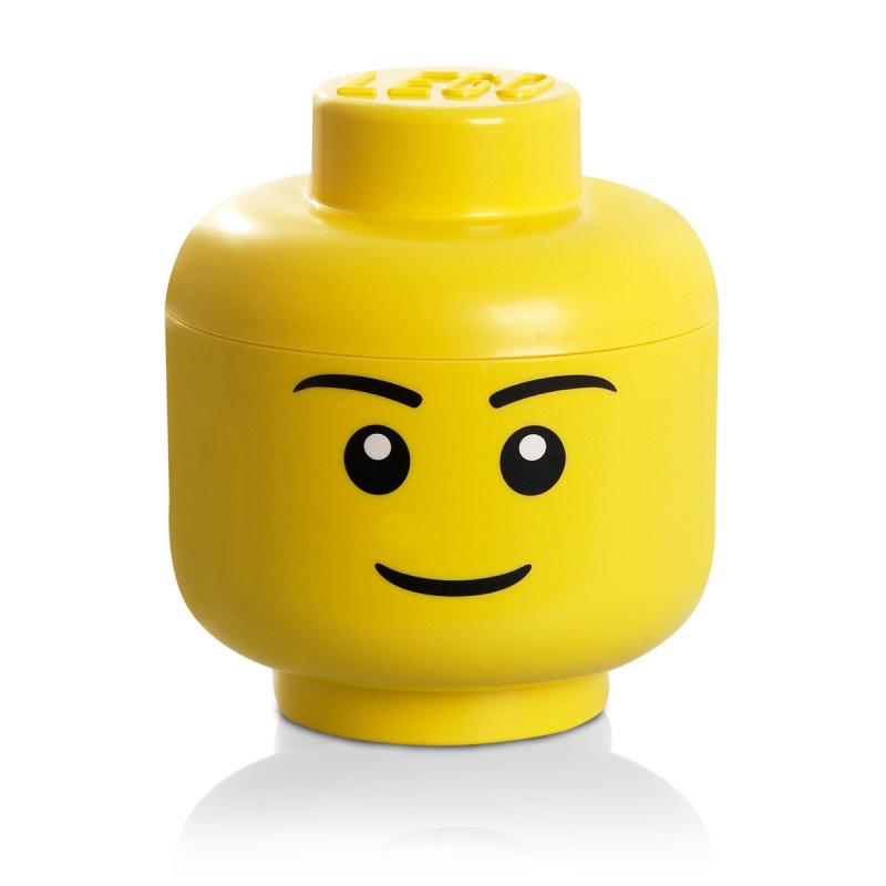 Lego Förvaring Huvud Stort ~ Lego Stort Opbevaringshoved Lego Stor, Gul Room Copenhagen @ RoyalDesign dk