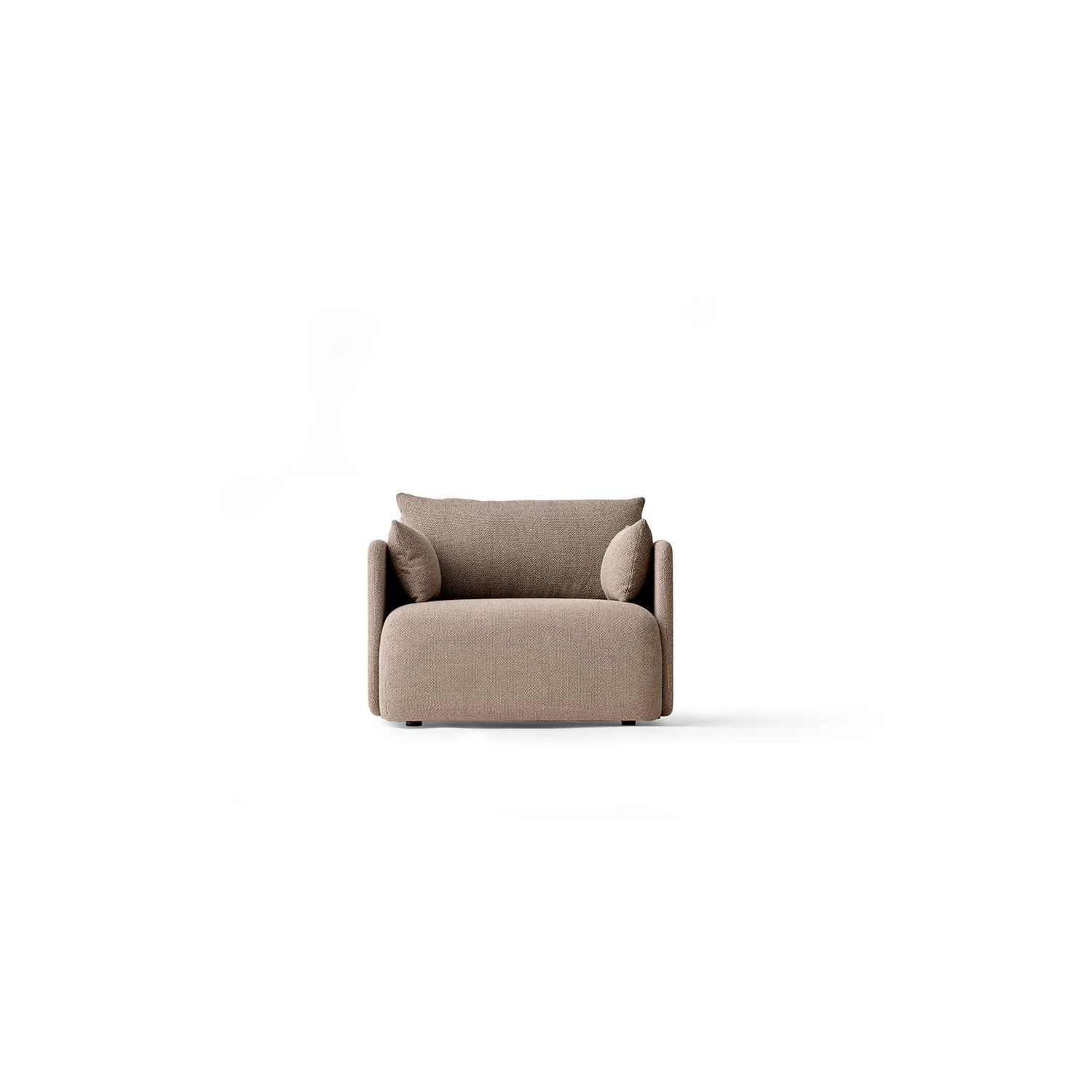 Offset Sofa 1 Seater, Maple 222