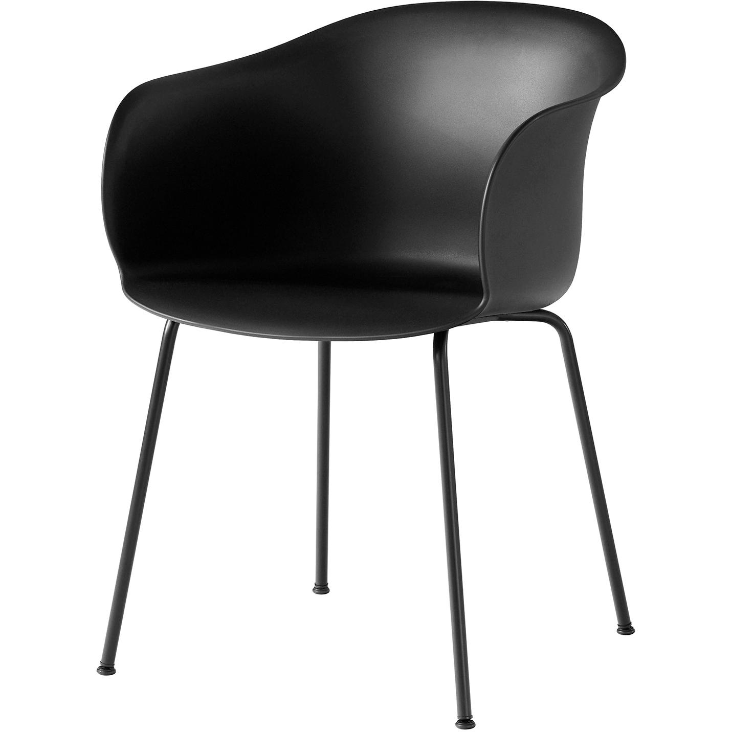 Bilde av &Tradition-Elefy Chair JH28 Black Base / Black Cover