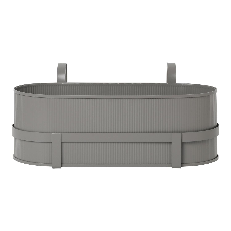 Bau Balkonglåda, Warm Grey