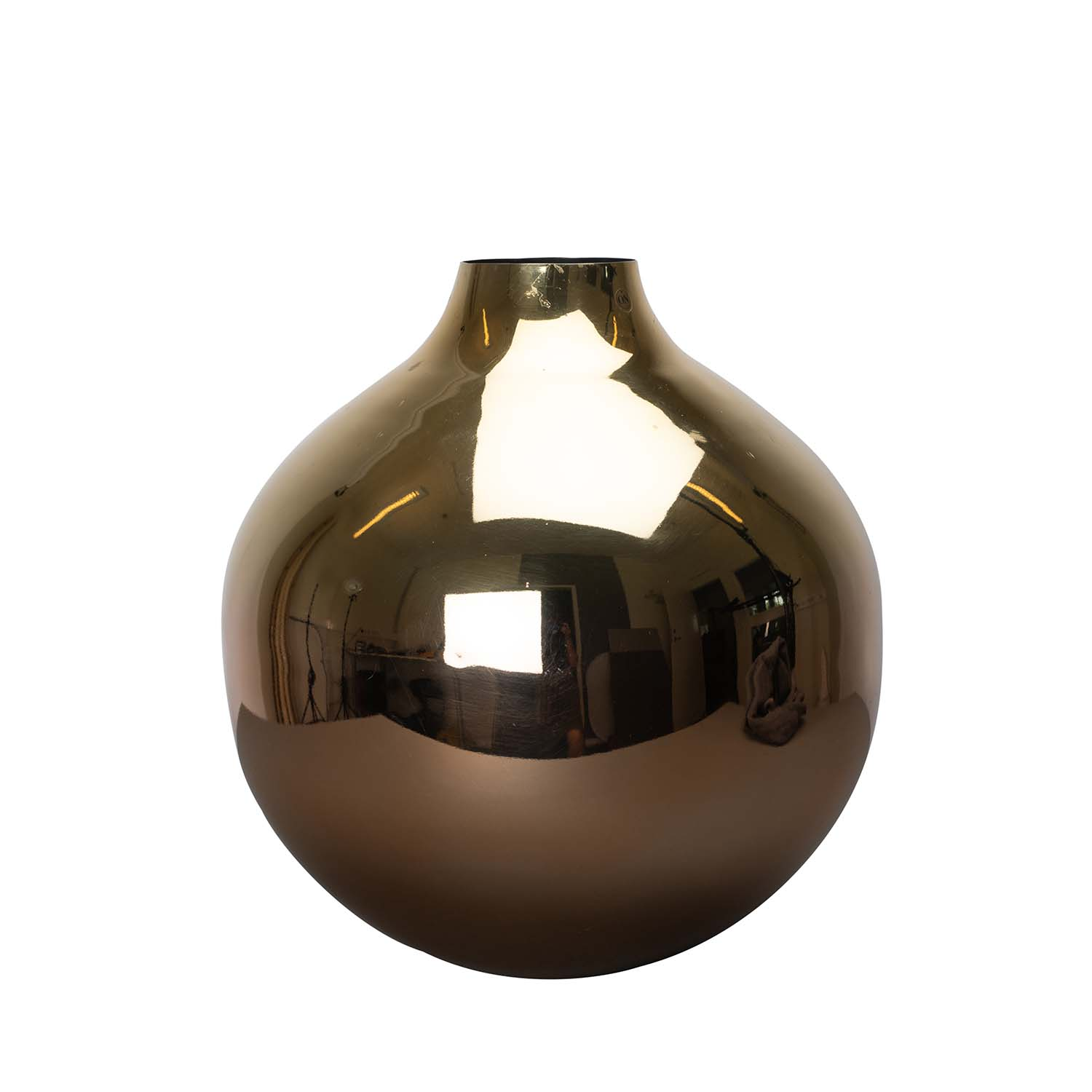 Bilde av By On-Glow Vase, Messing/Kobber