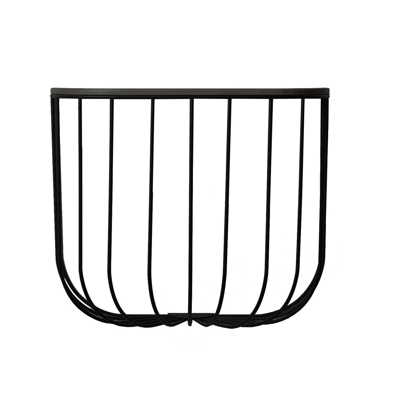 Cage Hylla, Svart/Mörk Ask