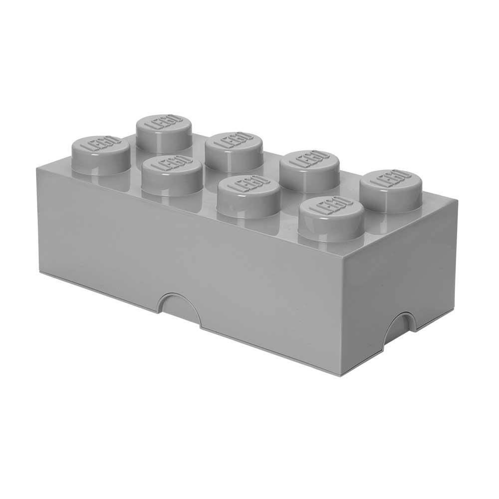 Lego Förvaringslåda 8, Grå