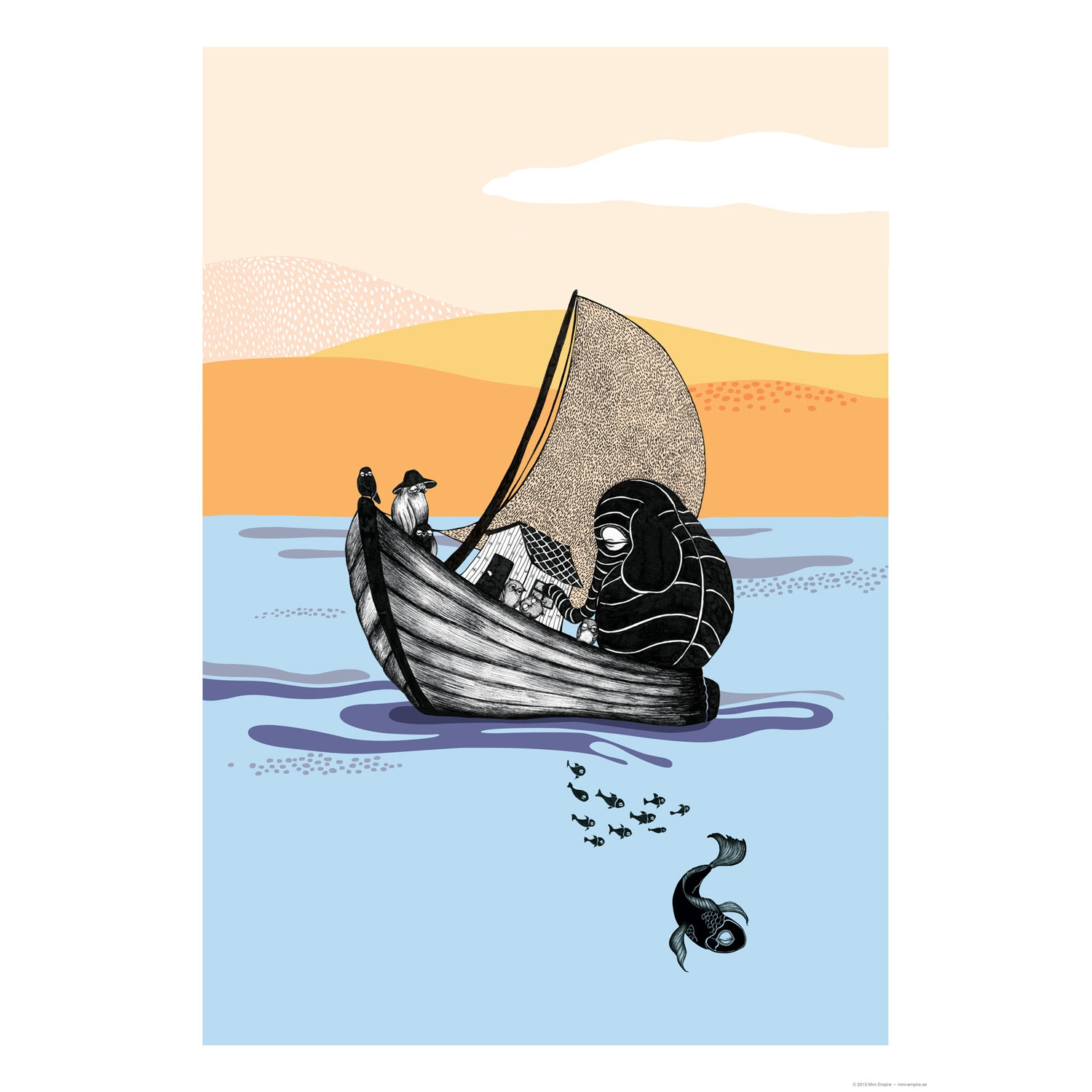 Bilde av Mini Empire-The Boat Poster