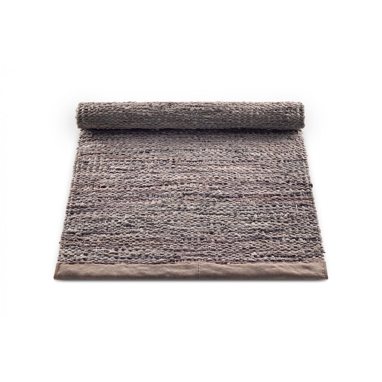 Bilde av Rug Solid-Leather Teppe 140x200 cm, Wood