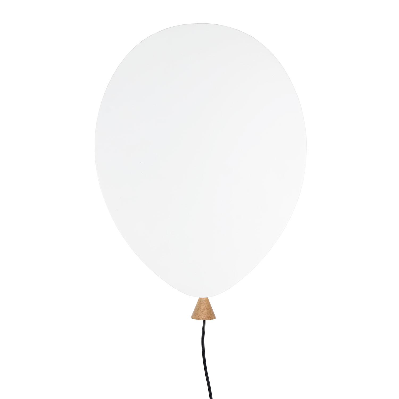 Balloon Vägglampa LED, Vit